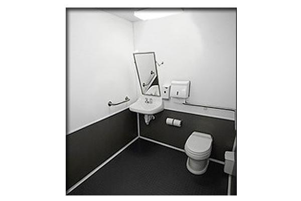 Handicap-ADA Trailer Interior