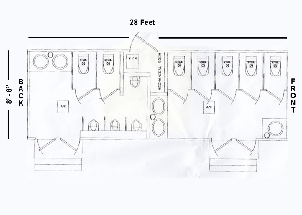 32′ Trailer Floorplan